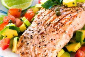 Healthy BBQ Salmon